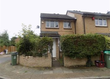 Thumbnail 3 bed end terrace house to rent in Wallace Close, Thamesmead, London