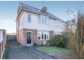 Thumbnail 3 bedroom semi-detached house for sale in Glen Park Avenue, Glenfield, Leicester