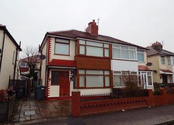 Thumbnail 3 bed semi-detached house for sale in Gretna Crescent, Thornton-Cleveleys, Lancashire