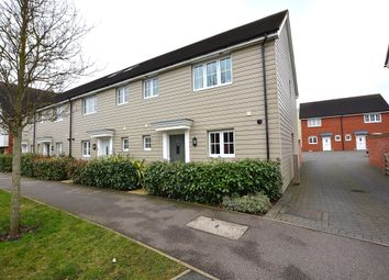 Thumbnail 3 bed end terrace house for sale in Saffron Way, Little Canfield, Dunmow