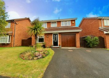 Thumbnail 4 bed detached house for sale in Berrishill Grove, Whitley Bay