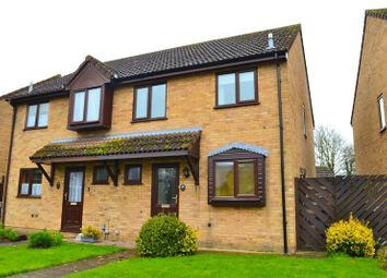 Thumbnail 3 bedroom semi-detached house for sale in Queens Way, Waterbeach, Cambridge