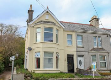 Thumbnail 2 bed end terrace house for sale in Carlyon Road, St Austell, Cornwall