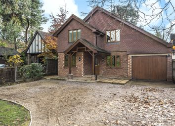 Thumbnail 5 bed detached house to rent in Nine Mile Ride, Finchampstead, Wokingham, Berkshire