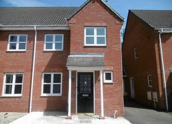 Thumbnail 3 bed semi-detached house to rent in Kay Close, Coalville