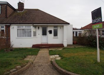 Thumbnail 2 bed bungalow to rent in Prince Avenue, Lancing