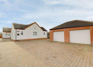 Thumbnail 5 bed detached bungalow for sale in Church Lane, Clarborough, Retford