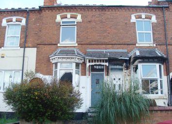 Thumbnail 3 bed terraced house for sale in Ashley Road, Erdington
