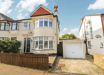 Thumbnail 3 bed semi-detached house for sale in Westcliff Park Drive, Westcliff-On-Sea