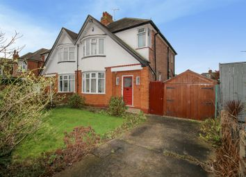 Thumbnail 3 bed semi-detached house for sale in Cator Lane, Chilwell, Nottingham