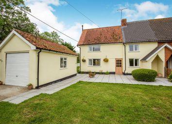 Thumbnail 3 bedroom cottage for sale in Southolt Road, Bedfield, Woodbridge