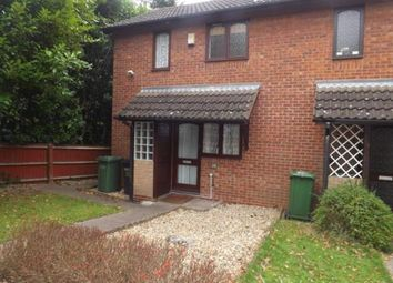Thumbnail 1 bed end terrace house for sale in Kendal Grove, Solihull, West Midlands