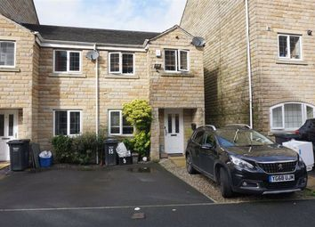 3 bed end terrace house for sale in Mill Stream Drive, Luddendenfoot, Halifax HX2