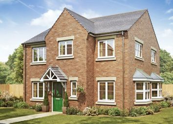 Thumbnail 4 bedroom detached house for sale in Hutton Road, Cranswick, Driffield