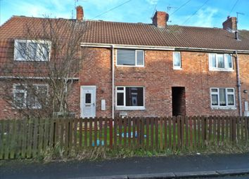 Thumbnail 3 bed terraced house to rent in North Crescent, Easington, Peterlee