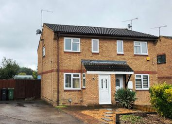 Thumbnail 2 bed semi-detached house to rent in Hammersmith Close, Houghton Regis, Dunstable