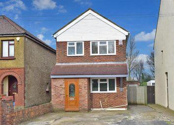Thumbnail 3 bedroom detached house for sale in Solomon Road, Rainham, Gillingham, Kent