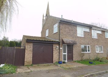 Thumbnail 3 bed semi-detached house to rent in St. James Close, Hanslope, Milton Keynes