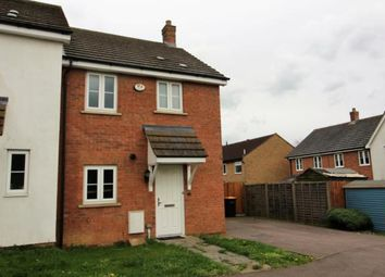 Thumbnail 3 bed end terrace house to rent in Beanfield Close, Riseley, Bedford