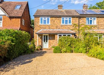 Thumbnail 3 bed semi-detached house for sale in Woodside Road, Chiddingfold, Godalming, Surrey