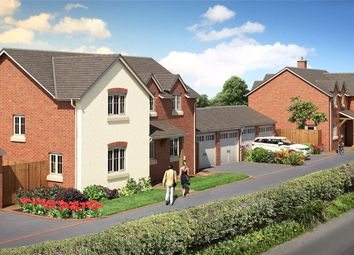 Thumbnail 4 bed detached house for sale in Plot 5, Chelwood View, Crew Green, Shrewsbury