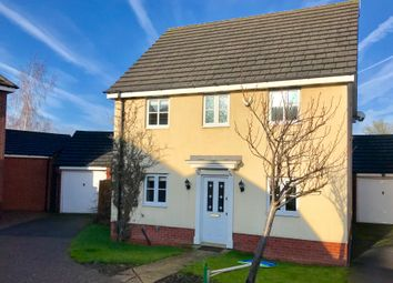 Thumbnail 3 bed detached house for sale in Barons Close, Kirby Muxloe