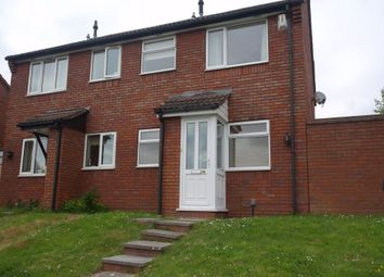 Thumbnail 1 bed end terrace house to rent in Cheshire Close, Yate, Bristol