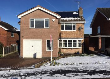 Thumbnail 4 bed detached house for sale in Sandringham Road, Stafford