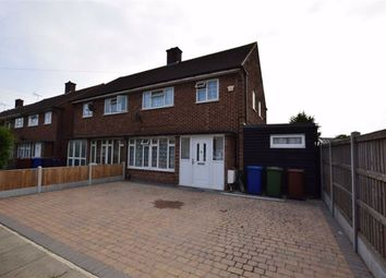 Thumbnail 3 bed semi-detached house to rent in Oxford Avenue, Chadwell St Mary, Essex