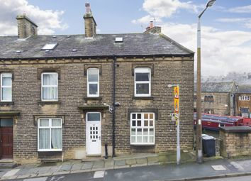 Thumbnail 3 bed end terrace house for sale in Keighley Road, Silsden, West Yorkshire