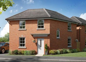 "Thumbnail 3 bed detached house for sale in ""Lutterworth"" at Watling Street, Little Brickhill, Milton Keynes"