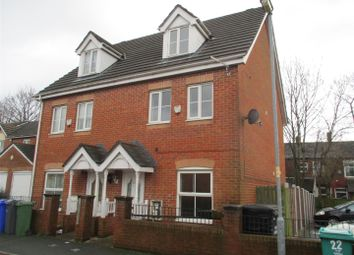 Thumbnail 3 bed semi-detached house to rent in Nepaul Road, Blackley, Manchester