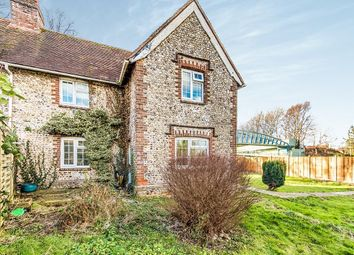 Thumbnail 2 bed semi-detached house for sale in Boxgrove Corner Arundel Road, Tangmere, Chichester