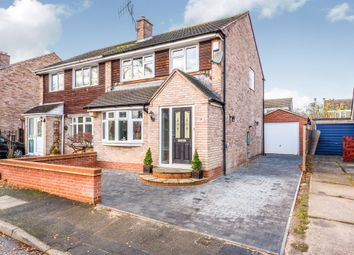 Thumbnail 3 bed semi-detached house for sale in Leckhampton Road, Loughborough