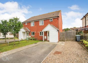 Thumbnail 2 bed semi-detached house for sale in New Road, Reedham, Norwich