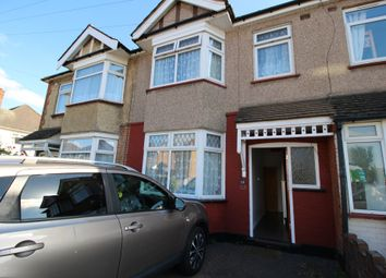 Thumbnail 3 bed terraced house to rent in Chadwell Heath Lane, Romford, Essex