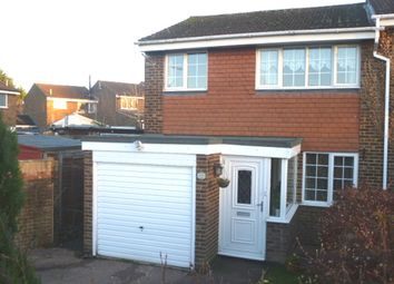 Thumbnail 3 bedroom semi-detached house for sale in Burns Road, Royston