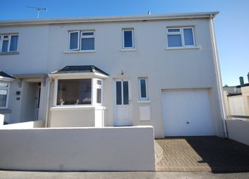 Thumbnail 4 bed semi-detached house for sale in Bellozanne Ave, St Helier