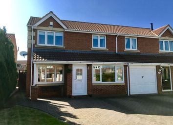 Thumbnail 3 bed semi-detached house for sale in Cradoc Grove, Ingleby Barwick, Stockton-On-Tees