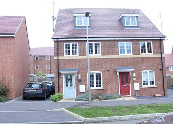 Thumbnail 3 bed semi-detached house for sale in Guyana Lane, Newton Leys, Milton Keynes, Buckinghamshire