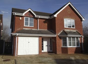 Thumbnail 4 bed detached house to rent in Fennel Close, Blackpool