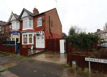 Thumbnail 3 bed maisonette to rent in Somerset Road, Harrow