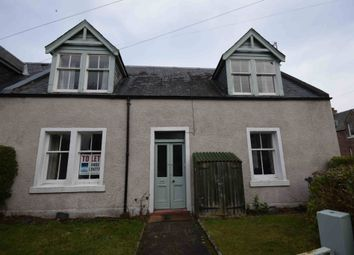 Thumbnail 2 bed end terrace house to rent in Cathedral Square, Fortrose, Black Isle