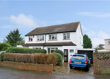 Thumbnail 3 bed semi-detached house for sale in Fir Tree Grove, Carshalton, Surrey