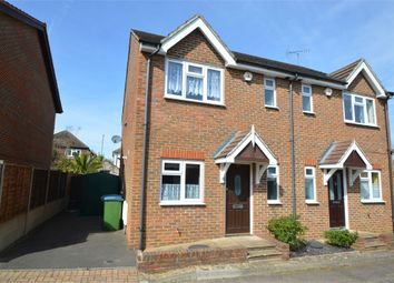 Thumbnail 3 bed semi-detached house for sale in Alpine Road, Walton-On-Thames