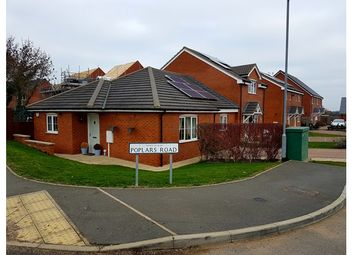Thumbnail 2 bed bungalow for sale in 1, Poplars Road, Croft, Leicestershire