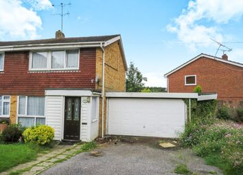 Thumbnail 3 bed semi-detached house for sale in Ringwood Drive, North Baddesley, Southampton