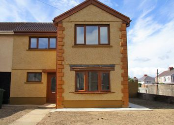 Thumbnail 3 bed semi-detached house for sale in Darwin Road, Port Talbot, Neath Port Talbot.