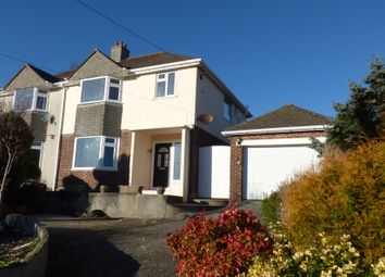 Thumbnail 3 bed semi-detached house for sale in 62 Underlane, Plymstock, Plymouth, Devon
