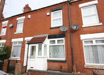 Thumbnail 2 bedroom terraced house for sale in Chandos Street, Coventry